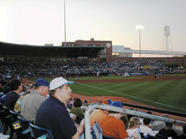 Durham Bulls Athletic Park - Home Game, April 2010