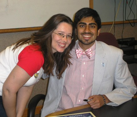 Me with Anoop Desai, Season 8 Finalist American Idol and Chapel Hill native